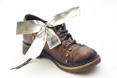 Present Shoe Royalty Free Stock Photography