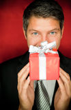 Present surprise Stock Images