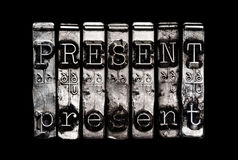 Present time concept Stock Photos