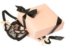 Present for the woman. Accessories,clothes, erotic,present for the woman Stock Images