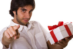 A present for you Stock Image