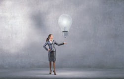 Present your idea Royalty Free Stock Images