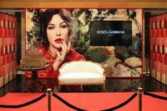 Free Presentable Beauty Corner Dolce & Gabbana. Moscow. TSUM. 12.03.2014 Royalty Free Stock Photos - 120192478