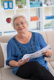 Presentable granny Royalty Free Stock Photos