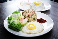Presentación asiática de la comida Fotos de archivo