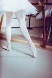 Presentación de la bailarina Fotos de archivo