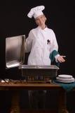 Presentación de la comida fría Foto de archivo libre de regalías