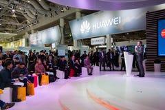 Presentación de la línea de productos de Huawei presidente Jeff Wang fotos de archivo