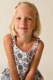Presentación de la muchacha Imagen de archivo