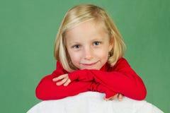 Presentación de la muchacha Imagenes de archivo