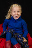 Presentación de la muchacha Foto de archivo libre de regalías