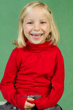 Presentación de la muchacha Fotografía de archivo libre de regalías