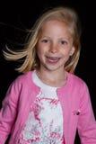 Presentación de la muchacha Imagen de archivo libre de regalías