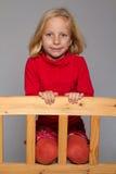 Presentación de la muchacha Fotos de archivo