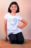 Presentación de la muchacha de Cutie Fotos de archivo libres de regalías