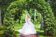 Presentación de la novia fotos de archivo libres de regalías