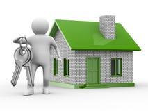 Presentación de la nueva casa ilustración del vector