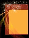 Presentación de los fuegos artificiales Foto de archivo libre de regalías