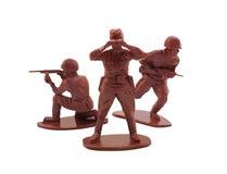 Presentación de los soldados de juguete Foto de archivo