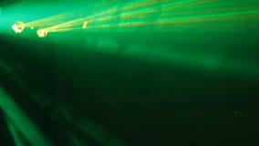 Presentación de luz láser almacen de video