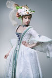 Presentación de moda de la belleza Imagen de archivo