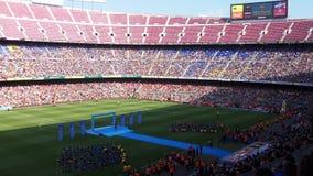 Presentación de Neymar al Barcelona Royaltyfri Bild