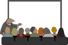 Presentación del asunto ilustración del vector