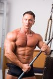 Presentación del Bodybuilder Foto de archivo