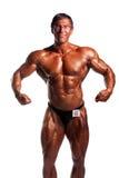 Presentación del Bodybuilder Imagenes de archivo