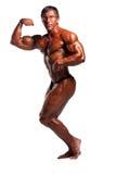 Presentación del Bodybuilder Fotografía de archivo