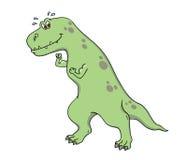 Presentación del dinosaurio Fotografía de archivo libre de regalías