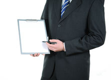 Presentación del negocio Imagen de archivo libre de regalías
