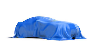 Presentación del nuevo coche Foto de archivo libre de regalías