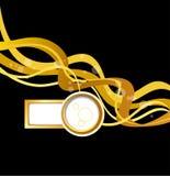 Presentación elegante del cartel del negocio, portada de revista, diseño Imagen de archivo libre de regalías