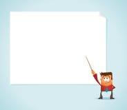 Presentación en whiteboard Fotos de archivo