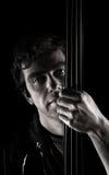 Presentación hermosa del músico Fotos de archivo libres de regalías