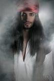 Presentación hermosa del pirata Imágenes de archivo libres de regalías