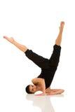 Presentación joven del bailarín imagenes de archivo