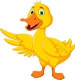 Presentación linda de la historieta del pato libre illustration