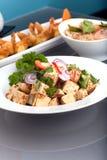 Presentación tailandesa fresca del alimento Imagen de archivo