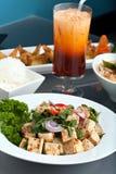 Presentación tailandesa fresca del alimento Fotos de archivo