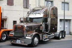 Presentación personalizada camión americano rico grande Foto de archivo libre de regalías
