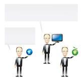 Presentaciones del Internet Ilustración del Vector