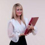 Presentadora Foto de archivo