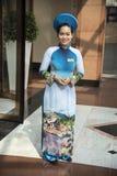 Presentadora de la huésped del hotel Imagen de archivo libre de regalías