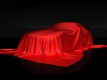Presentaition van de auto Stock Afbeelding
