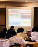 Presentatie Royalty-vrije Stock Afbeelding