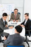 Presentatie Stock Fotografie
