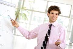 Presentatie Stock Foto
