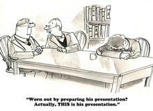 presentatie royalty-vrije illustratie